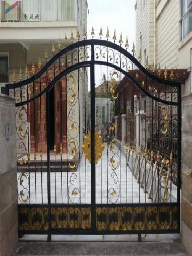 别墅庭院铁艺门